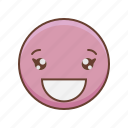 kawaii, girl, emotions, emoji