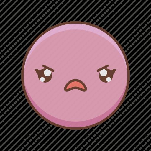 avatar, emoji, emoticon, emotion, emotions, face, girl icon