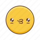 emoji, kawaii, smail icon