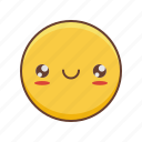 emoji, kawaii, smiley icon