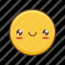 emoji, kawaii, smiley