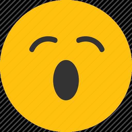 bored, emoji, mood, sleep, tired icon