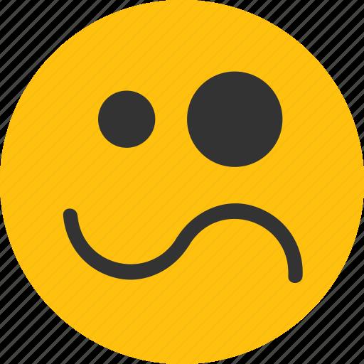 confuse emoji, confused, emoji, mood icon