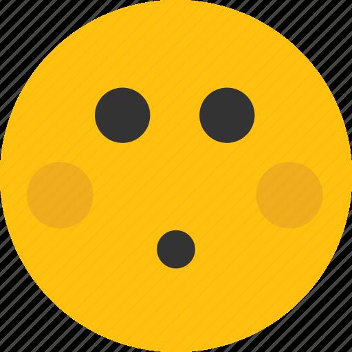 embarrass, embarrassed, emoji, mood, shy icon