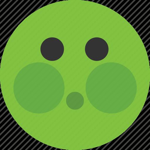 emoji, emoticon, ill, madicine, mood icon