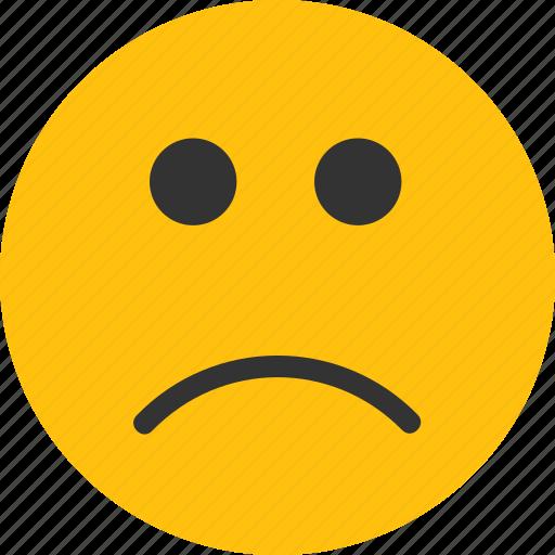 emoji, mood, sad, sad emoji, sadness icon