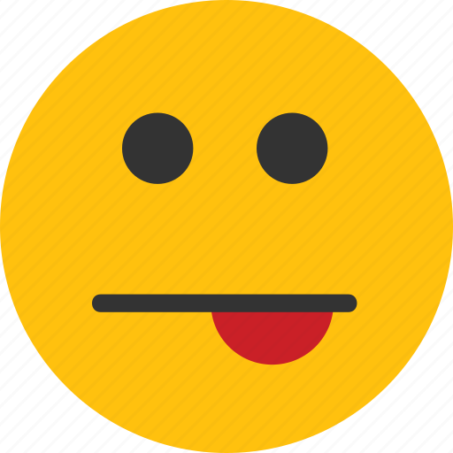 emoji, emoticon, mood, out, tongue icon