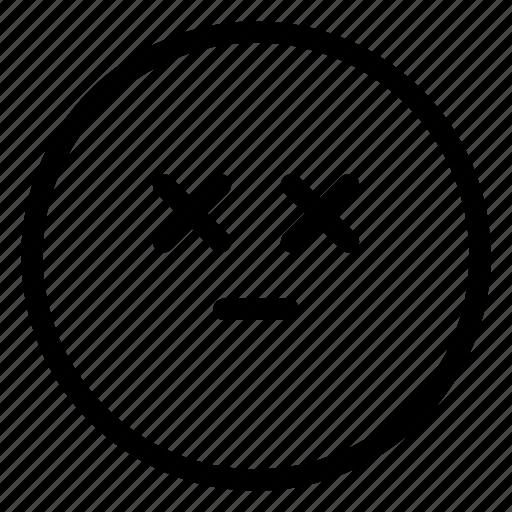 dead, emoji icon