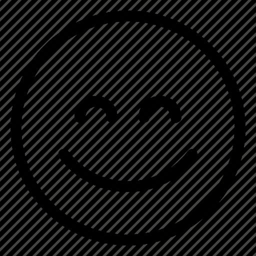 emoji, grin icon