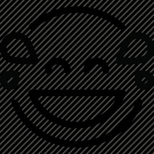 Emoji, lol icon - Download on Iconfinder on Iconfinder