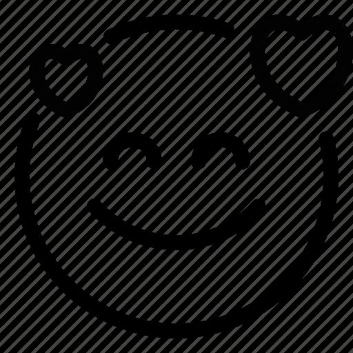 Emoji, loved, up icon - Download on Iconfinder on Iconfinder