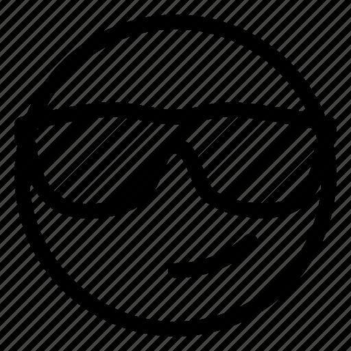 Emoji, shades icon - Download on Iconfinder on Iconfinder
