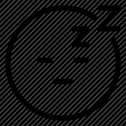 Emoji, sleeping icon - Download on Iconfinder on Iconfinder