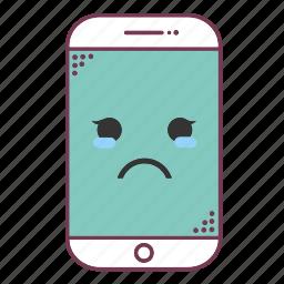 device, devices, emoji, emoticon, mobile, phone, smartphone icon