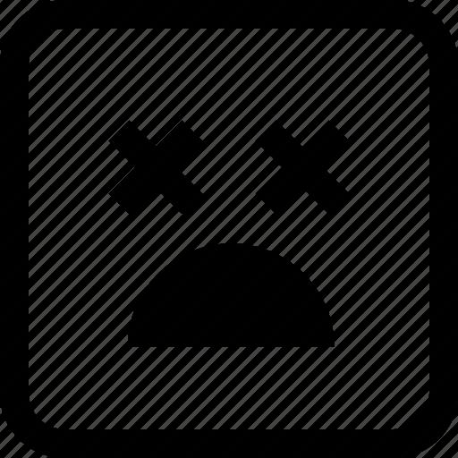 cry, emoji, emotion, expression icon