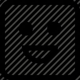 emoji, emotion, expression, happy icon