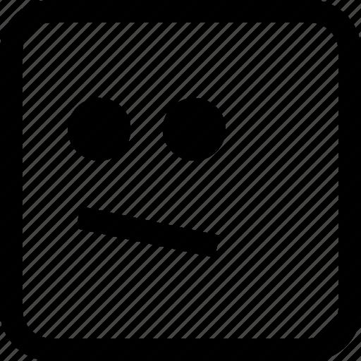 emoji, emotion, expression, looking icon