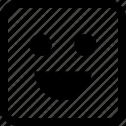 emoji, emotion, expression, happy, so icon