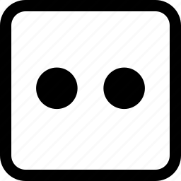 emoji, emotion, expression, stare icon