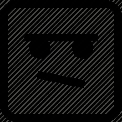emoji, emotion, expression, thinking icon
