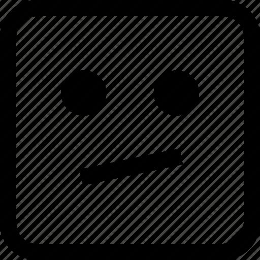 emoji, emotion, expression, thinking, thought icon