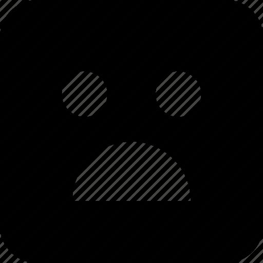 angry, emoji, shocked, wow icon