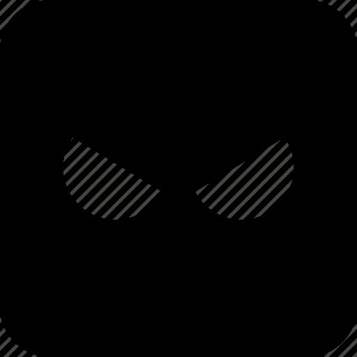 emoji, face, mad icon