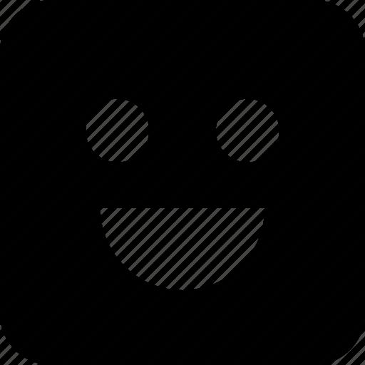 big, happiness, happy, smile icon