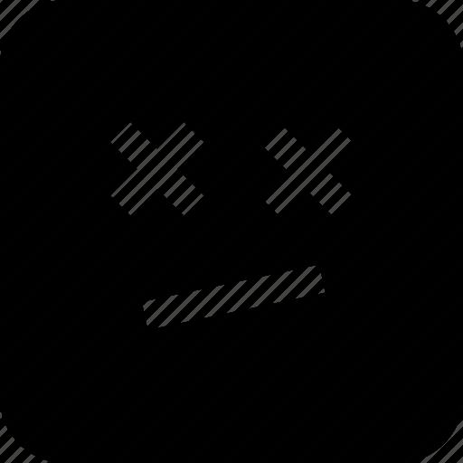 emoji, emotion, face, sad icon