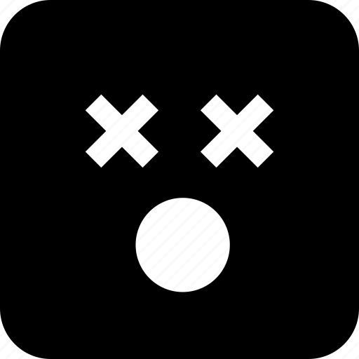 dead, emoji, shocked, wow icon
