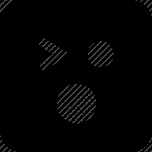 emoji, shock, shocked icon