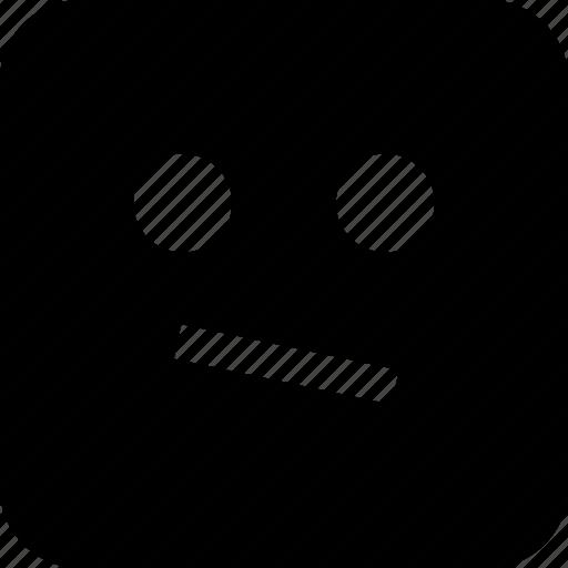 emoji, think, thinker, thought icon