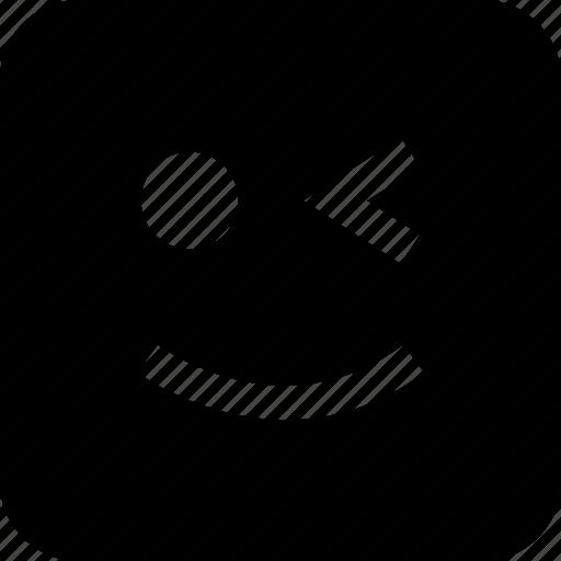 emoji, happy, win icon