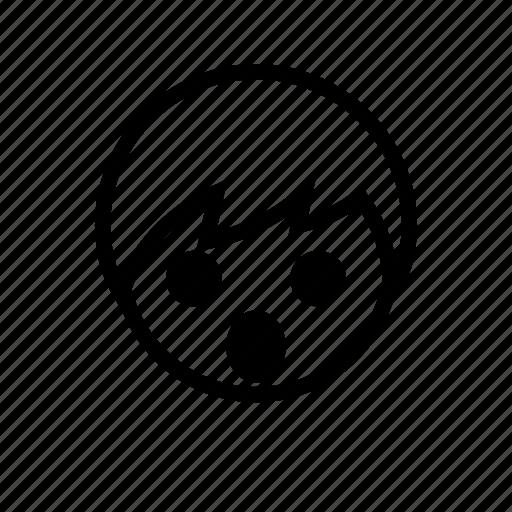 boy, emoticon, surprised icon