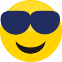 avatar, boy, emoji, glasses, man, profile, user