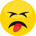 angry, cartoon, emoji, emotion, expression, face, man