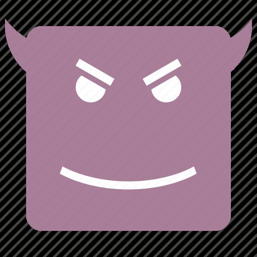 daemon, emojis, face icon