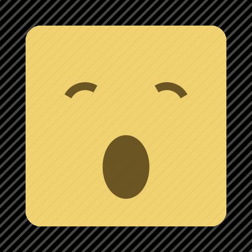 emojis, emoticon, face, shocked icon