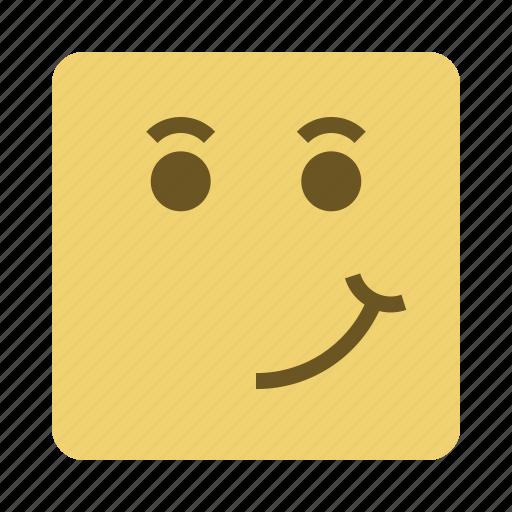 emojis, emoticon, face, smile icon