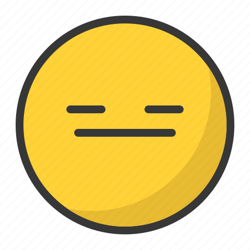 angry, bored, disappointed, emoji, emoticon icon