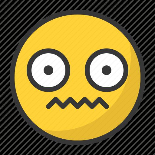 Confused, disgusted, emoji, emoticon icon - Download on Iconfinder