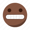 emoji, emoticon, face, happy, laugh, smile icon
