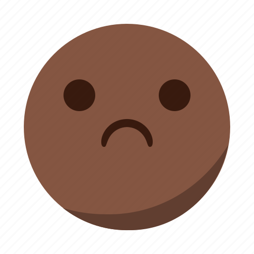 depressed, disappointed, emoji, emoticon, face, sad icon