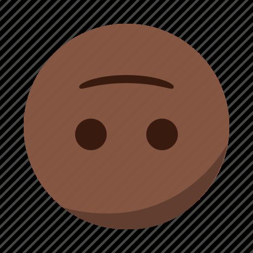 down, emoji, emoticon, face, happy, smile, upside icon