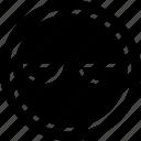 avatar, bored, emoji, emotion, face icon