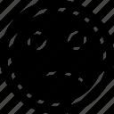 emoji, emotion, face, sadness icon