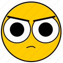 angry, emojiangry01, mad icon