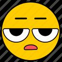 emojiesceptico01, neutral, skeptical, suspicious icon