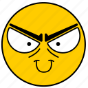 emojievil01, evil, mad icon