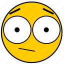 emojisurprised01, neutral, shock, shocked, surprise, surprised icon